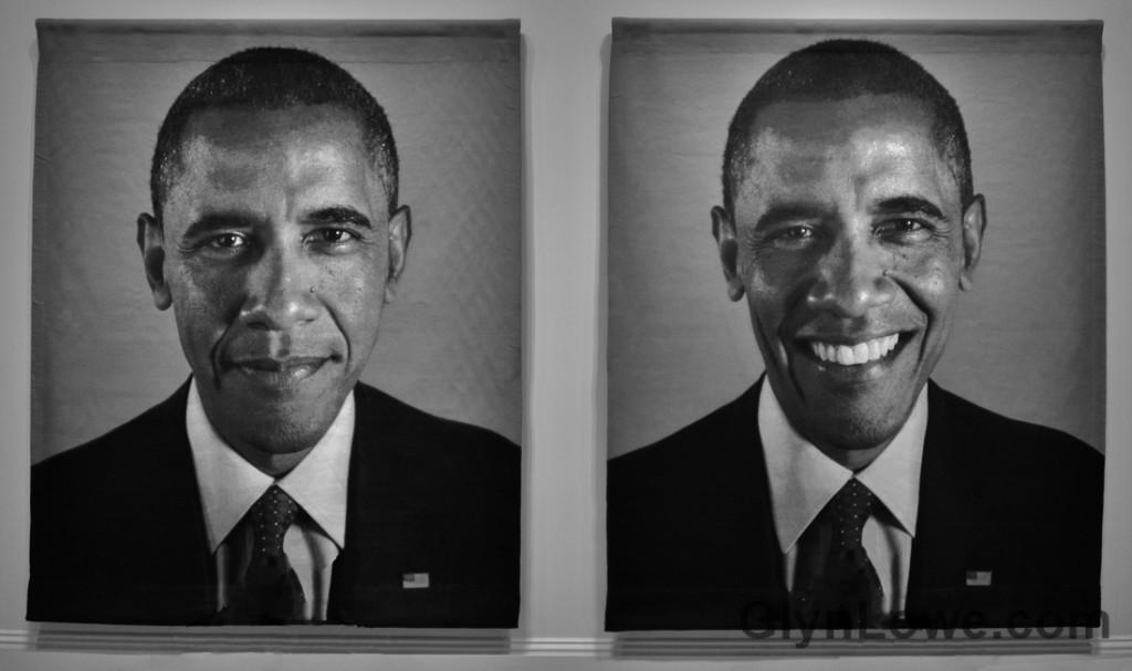 Barack Obama par Chuck Close