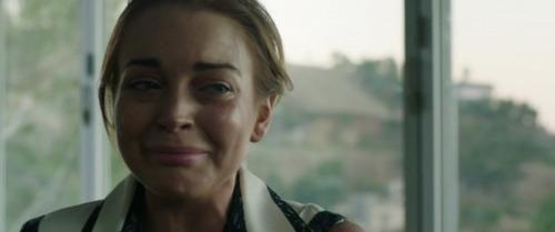 Lindsay Lohan en pleurs