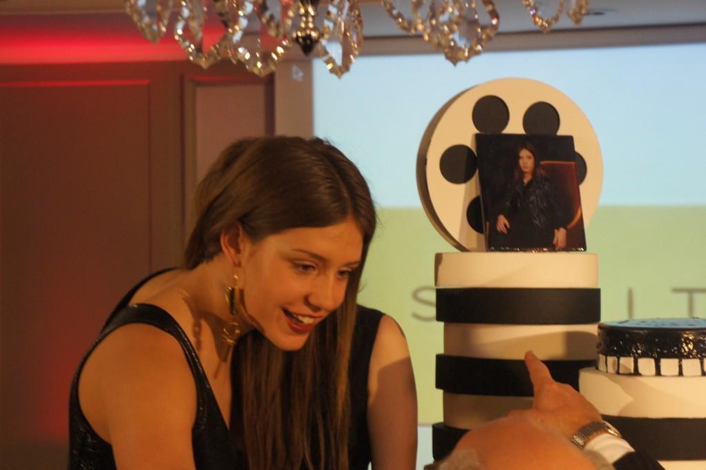 Adèle Exarchopoulos remporte à l'hotel Scribe