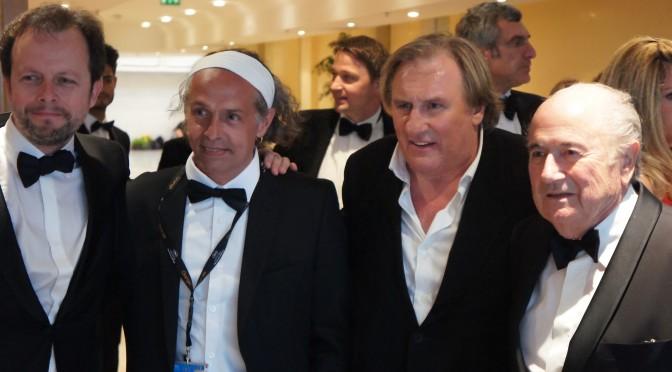 Gérard Depardieu à Cannes