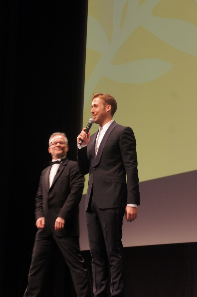 Ryan Gosling à Cannes