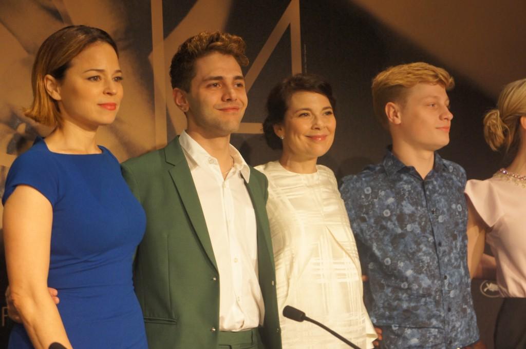 L'équipe du film Mommy