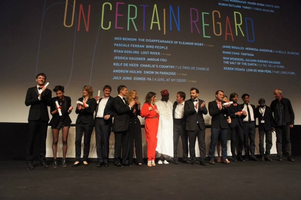 L'ensemble des lauréats Un Certain Regard