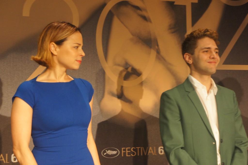 Xavier Dolan et Suzanne Clément à Cannes