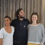 Pio Marmai, Alice Belaidi et Léa Fazer sont venus présenter Maestro