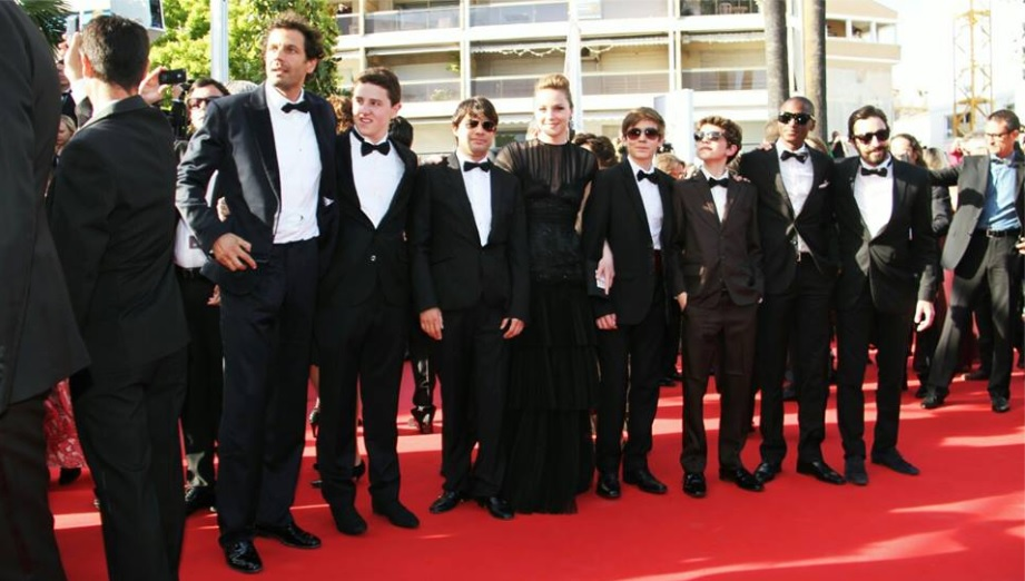 L'équipe du film Hasta Manana réunie à Cannes