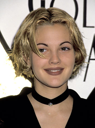 drew barrymore maquillage années 90