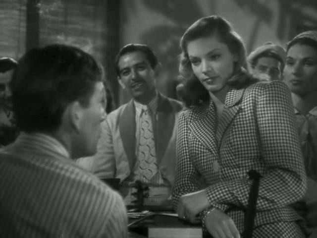 Lauren Bacall dans Le Port de l'angoisse (1944)