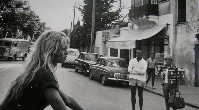 Brigitte Bardot à St Tropez