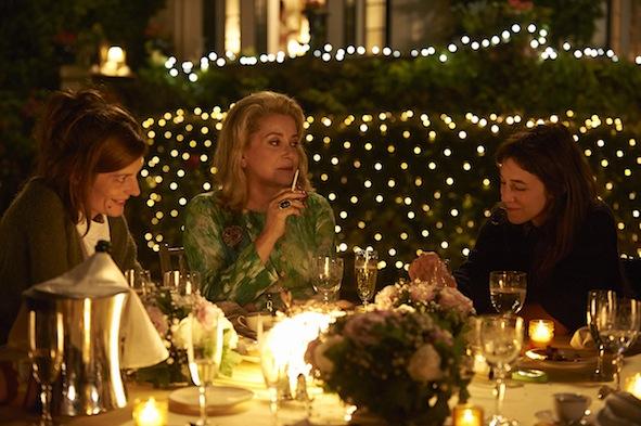 Charlotte Gainsbourg, Chiara Mastroiannni, Catherine Deneuve