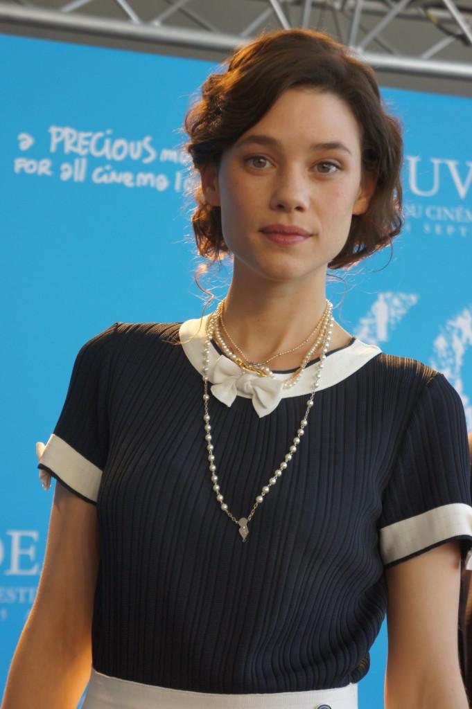 Astrid Berges Frisbey venue présenter I Origins à Deauville