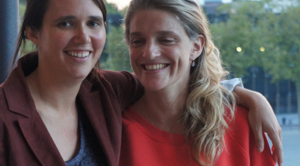Jeanne Herry et Olivia Côte