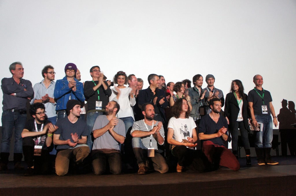 la photo du jury et des lauréats