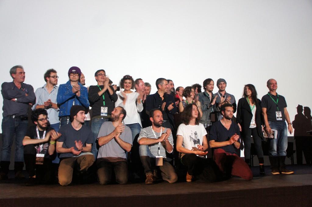 la photo du jury et des lauréats