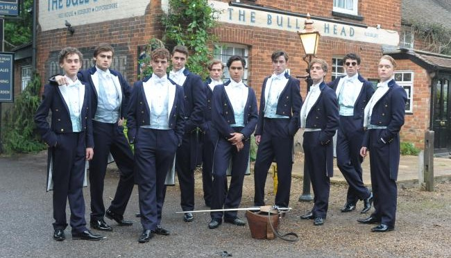 The riot club dénonce avec force l'Establishment en GB