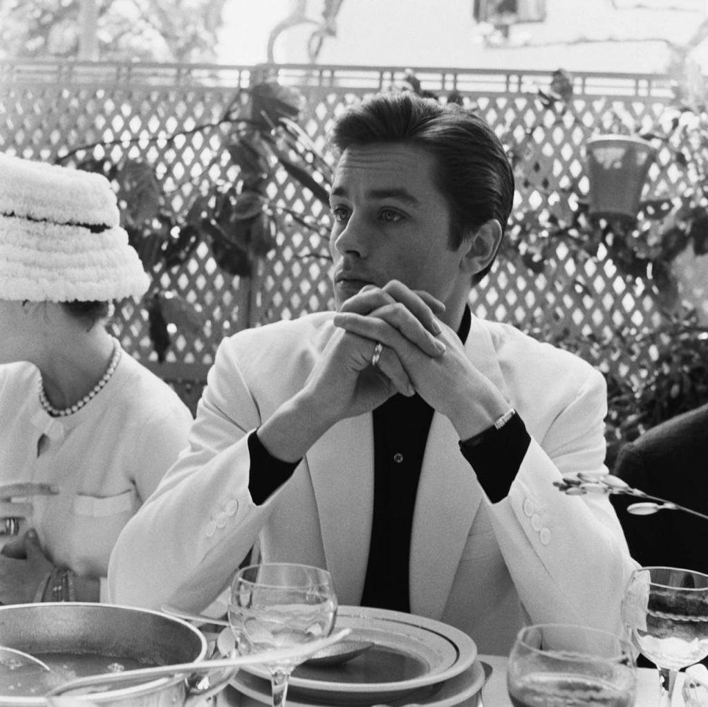 Alain Delon à Cannes 1962