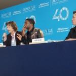 Mick Jagger Chadwick Boseman et Tate Taylor