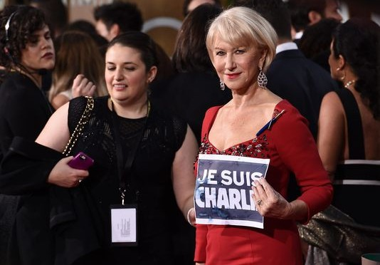 Hollywood était Charlie aux golden globes