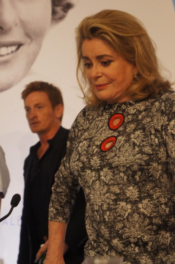 Catherine Deneuve et Benoit Magimel