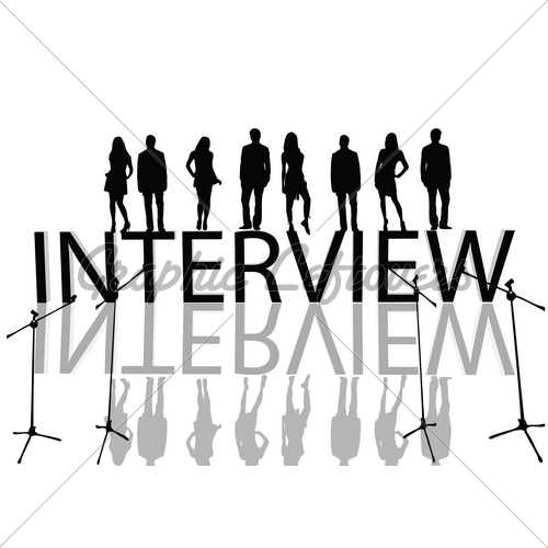 interview-vector-illustration