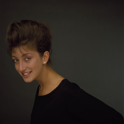 PARIS, FRANCE - OCTOBER: French Actress Pascale Ogier portrait session in October 1984 in Paris, France.