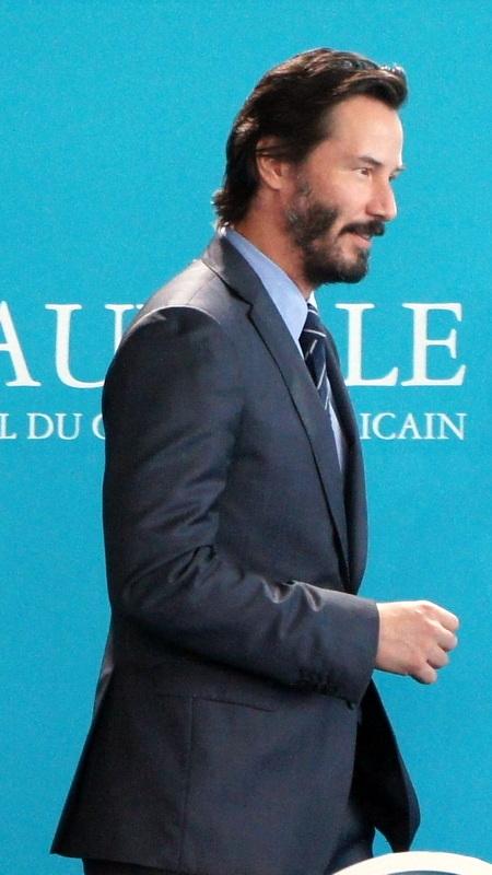 Keanu Reeves à Deauville 2015