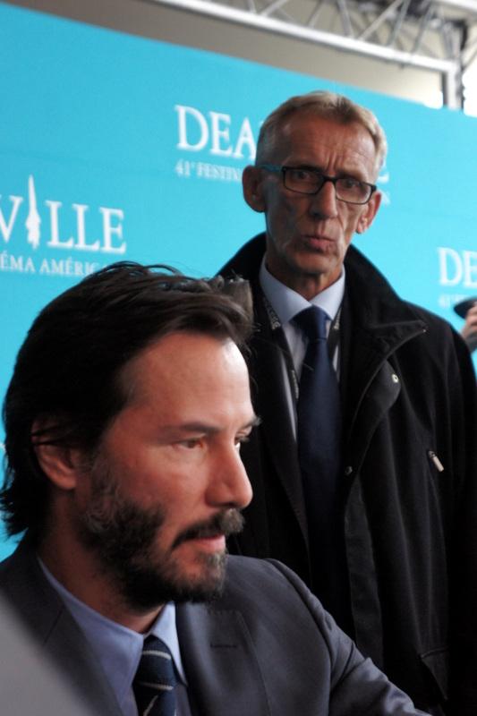 Keanu Reeves à Deauville