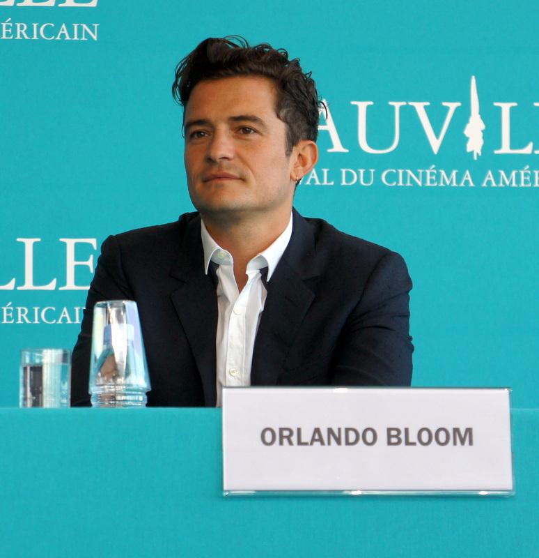 Orlando Bloom à Deauville
