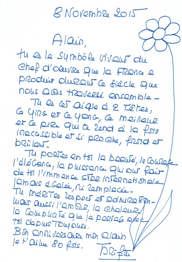 lettre pour une star