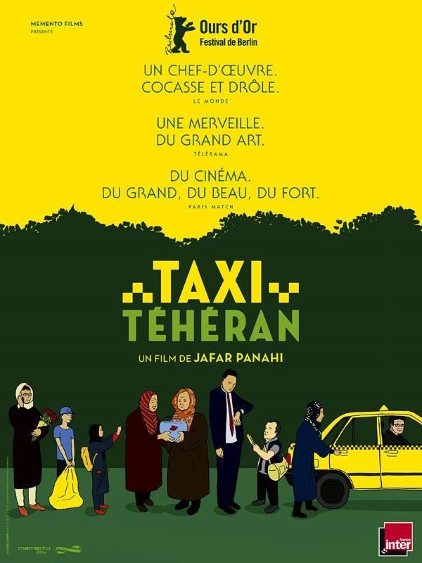 Taxi Téhéran, Affiche