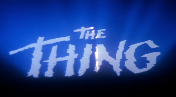 The Thing – Au creux de l'image