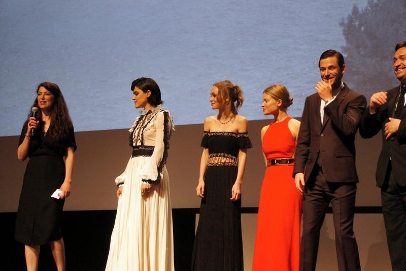 L'équipe du film La danseuse