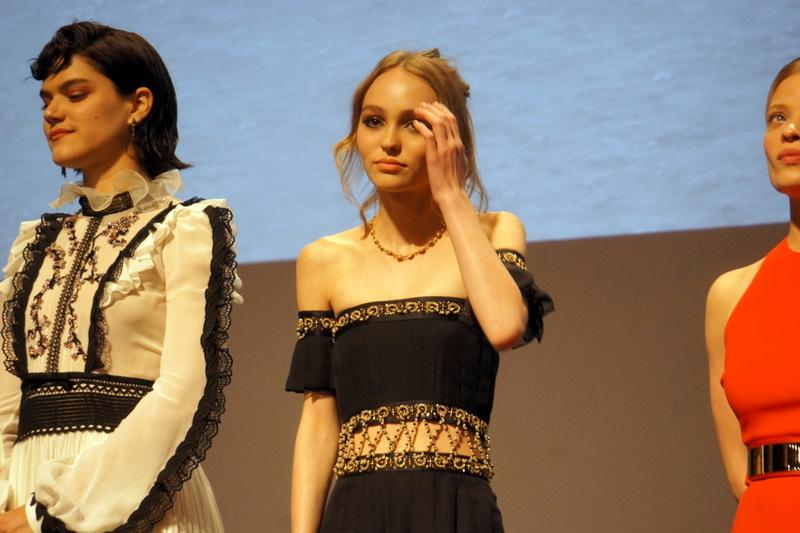 Soko et Lili Rose Depp