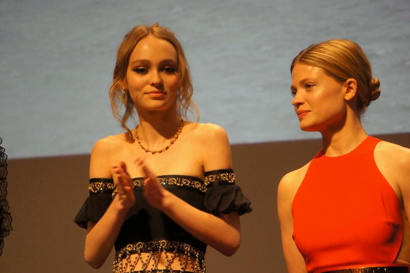 Lili Rose Depp et Mélanie Thierry