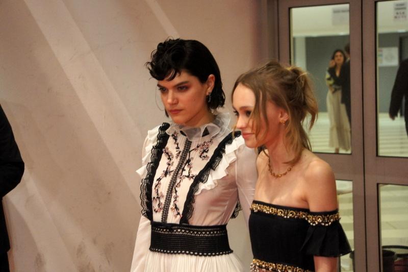 Lili Rose Depp et Soko