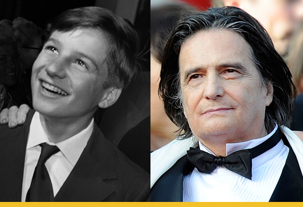 Jean-Pierre Léaud à Cannes en 1959 (© AFP) et en 2009 (© Anne-Christine Poujoulat / AFP)