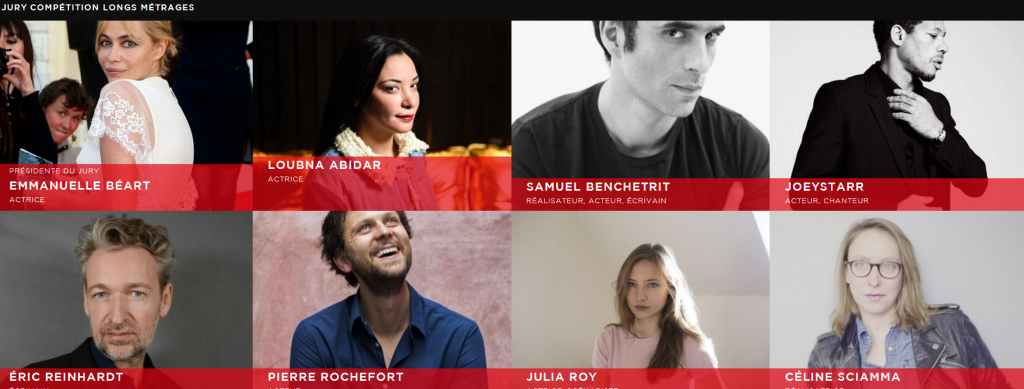 Jury Cabourg 2016