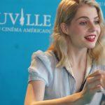 Lucy Boynton à Deauville