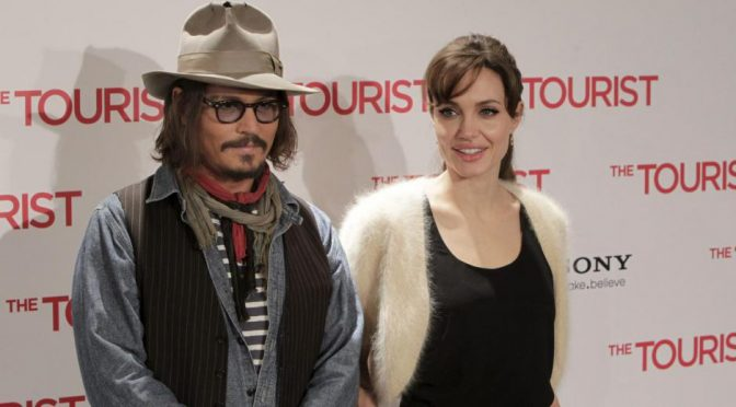 Angelina Jolie et Johnny Depp seraient ensemble