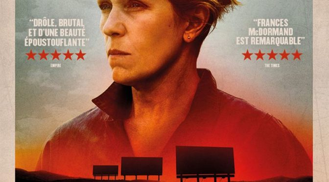 Three billboards outside Ebbing, Missouri (Les Panneaux de la vengeance), Golden Globe très Coenien