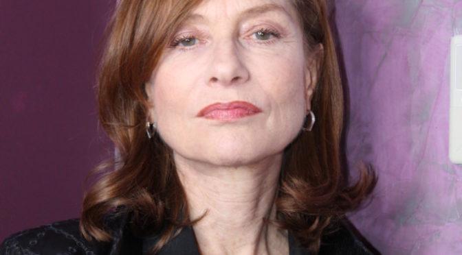 Isabelle Huppert, Gaspard Ulliel et Benoît Jacquot pour Eva