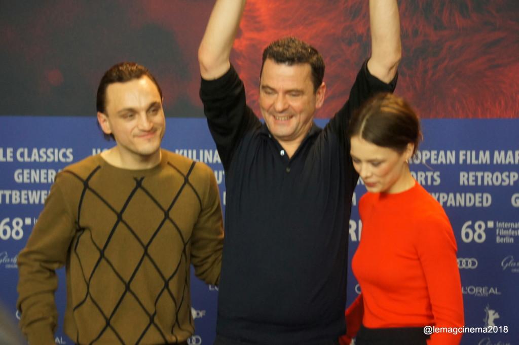 L'équipe du film Transit à la Berlinale