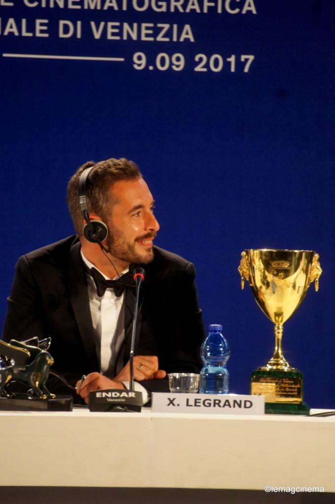 Xavier Legrand récompensé à la Mostra de Venise pour jusqu'à la garde