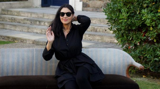 La conférence de presse de Monica Bellucci au Dinard Film Festival