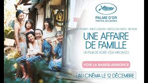 Une affaire de famille - Palme d'or 2018