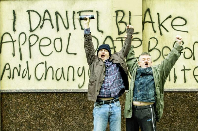 I Daniel Blake sur les murs