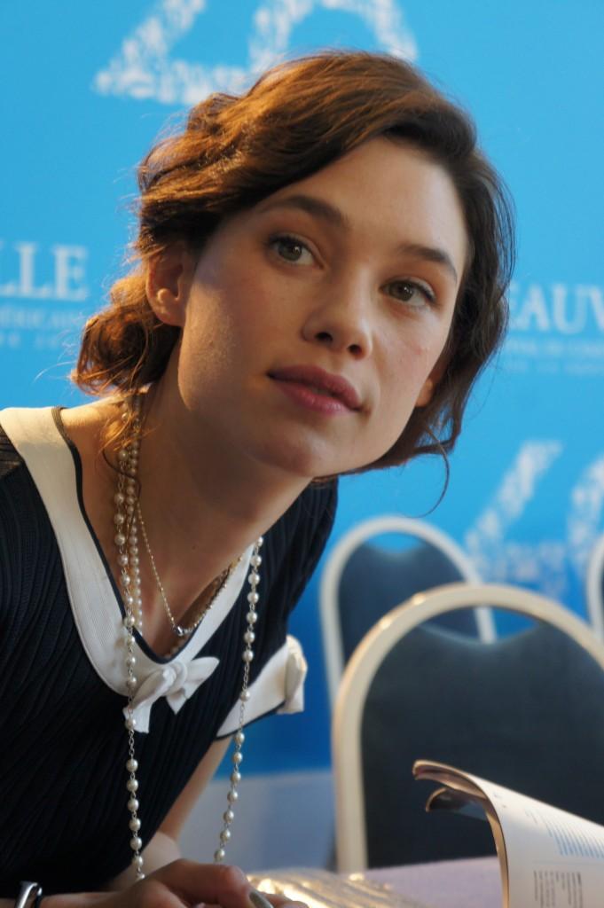 Astrid Berges Frisbey venue présentée I Origins à Deauville